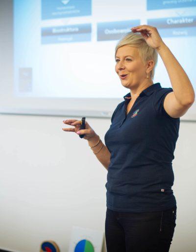 Ania Urbańska na szkoleniu STRUCTOGRAM®