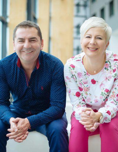 Ania Urbańska i Paweł Jarząbek