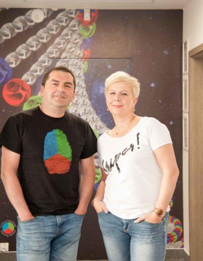 Ania Urbańska i Paweł Jarząbek sesja firma