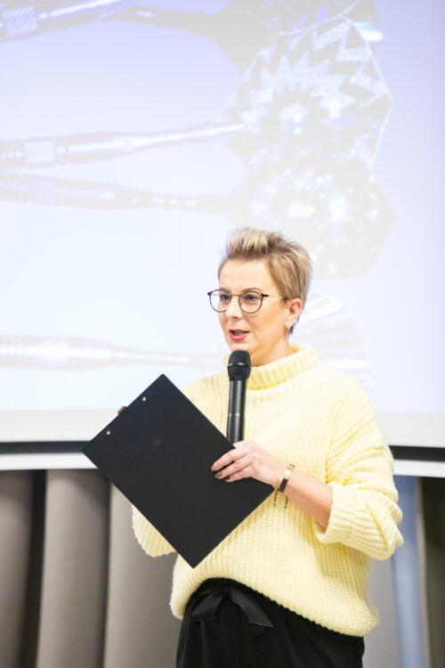 Ania Urbańska na szkoleniu Mój Najlepszy 2020