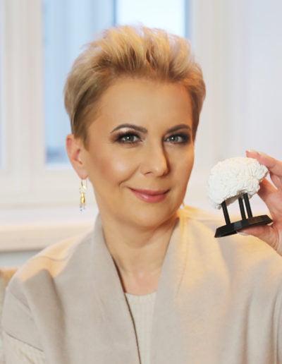 Ania Urbańska z mózgiem