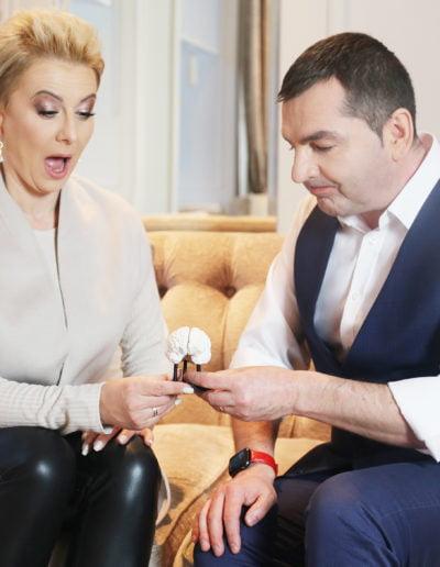 Ania Urbańska i Paweł Jarząbek z mózgiem