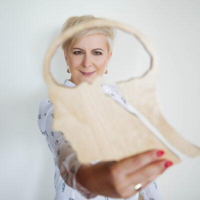 Ania Urbańska z drewnianym mózgiem