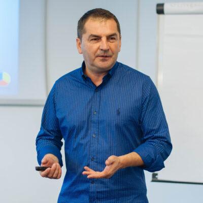 Paweł Jarząbek podczas szkolenia TRIOGRAM